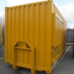 Blästring o Målning av Container