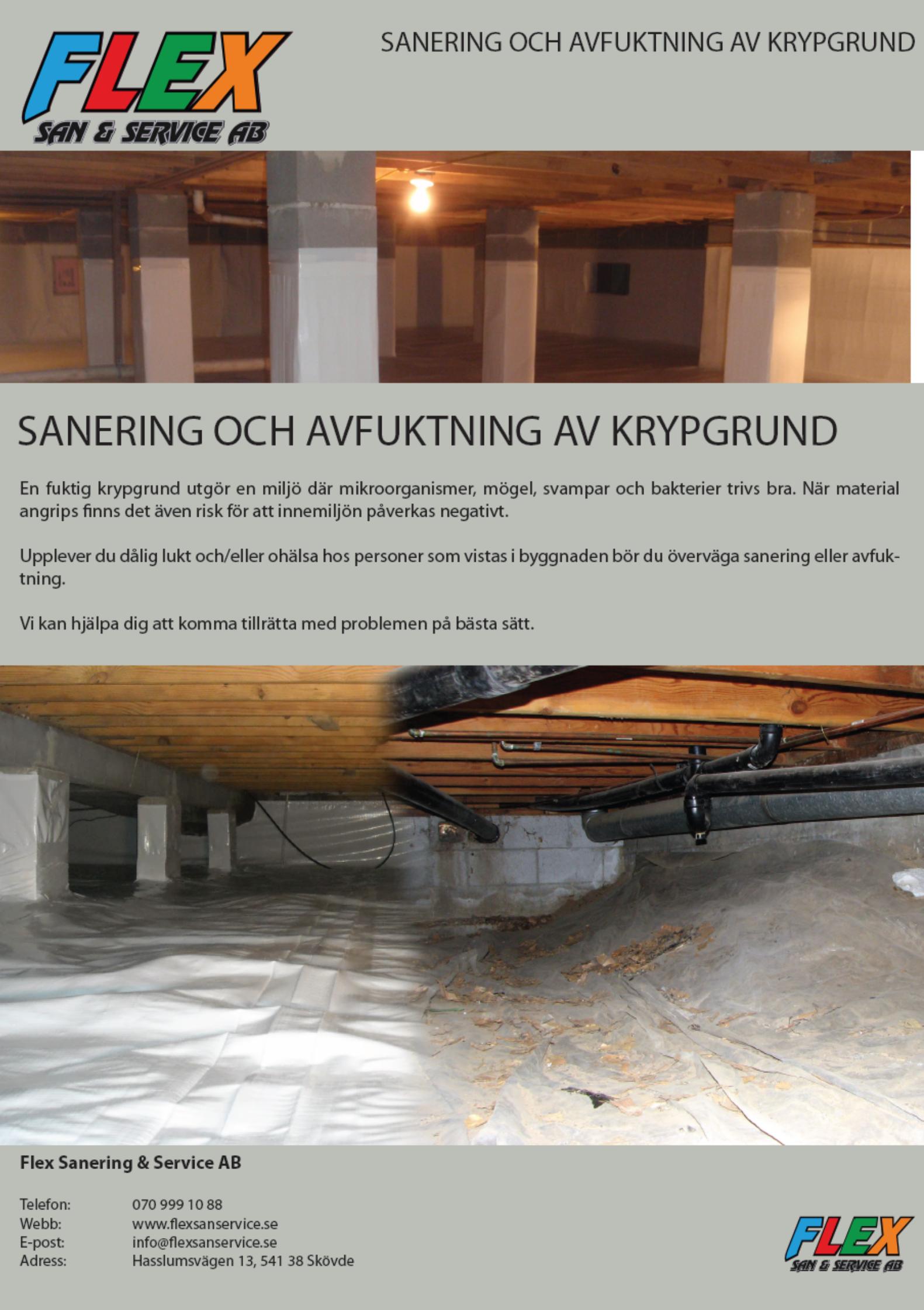 Broschyrer - Flex Sanering   Service 9fdacac33d3a7